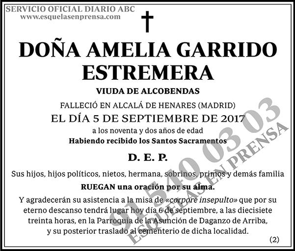 Amelia Garrido Estremera